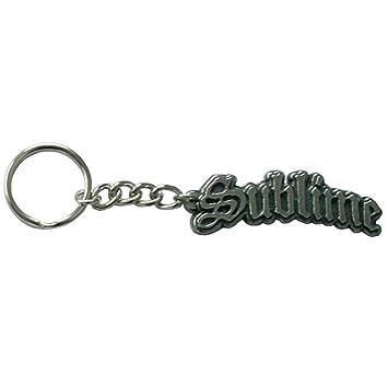 Amazon.com: Sublime – Logo de metal llavero: Automotive