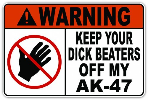 pro-gun-funny-warning-message-keep-your-db-off-my-ak-47-vinyl-decal-bumper-sticker-4-inches-x-6-inch