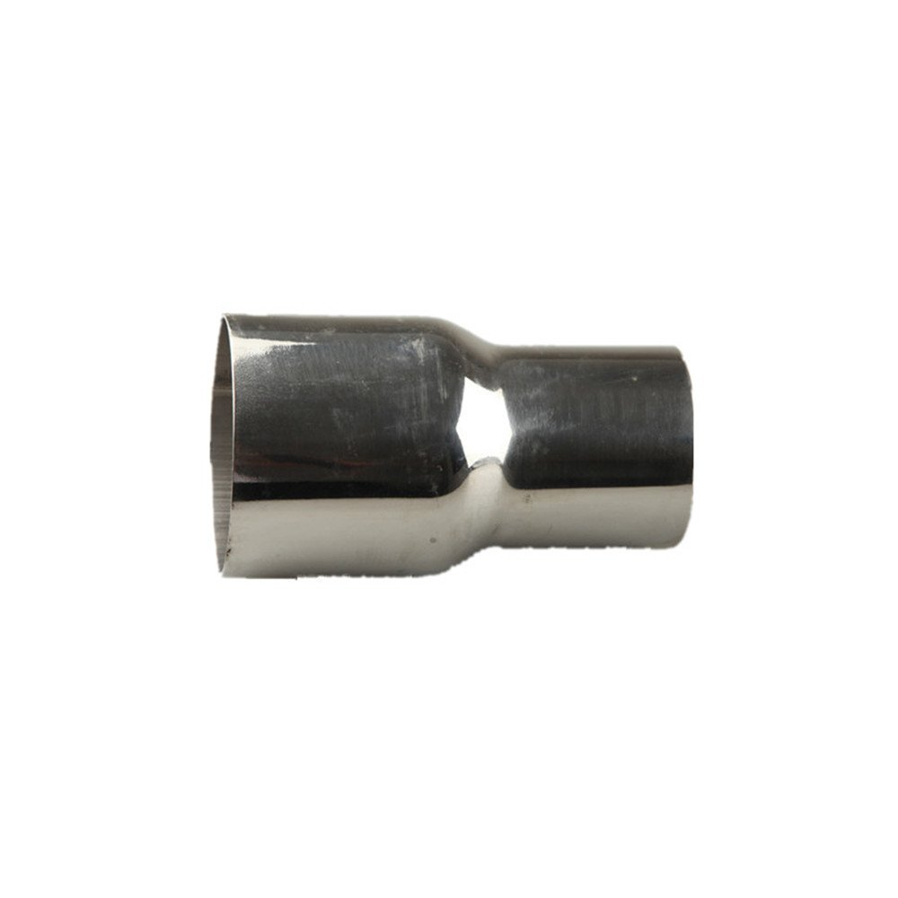 Universal 3' ID To 2.5' OD Exhaust Pipe Adapter Connector Reducer Stainless Steel - UK Shipping AdlerSpeed