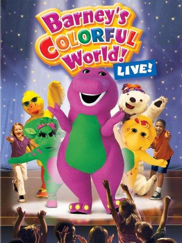 Barney's Colorful World! Live! (Barney Dvd Live)