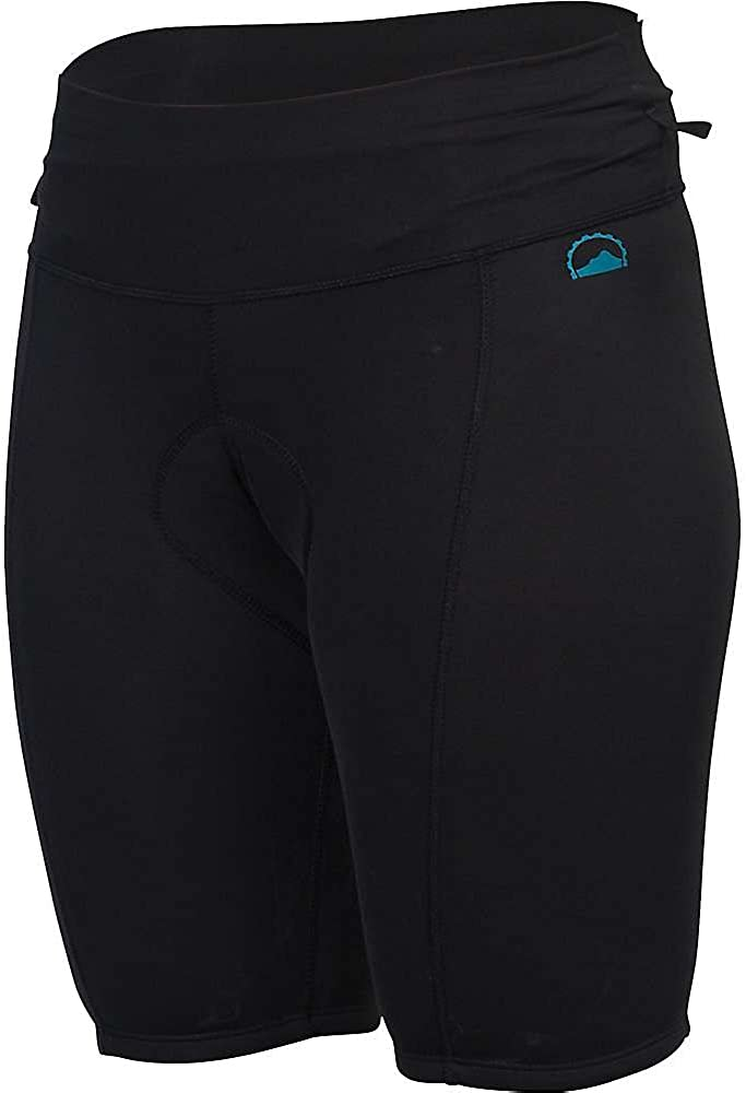 Womens Black ZOIC Premium Short Liner L
