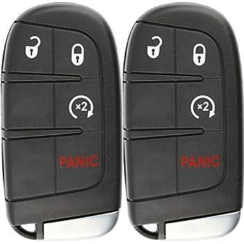 Amazon.com: 4 Button Jeep Renegade Smart Proximity Remote