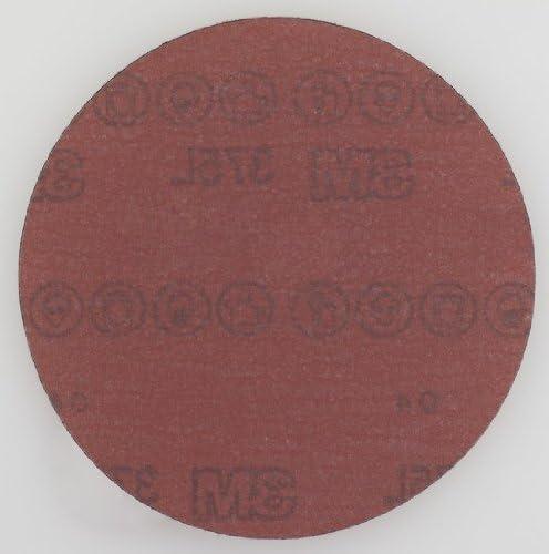 3M Hookit 375L Coated Aluminum Oxide Hook & Loop Disc - P600 Grit - 6 in Dia - 55673 [PRICE is per DISC]