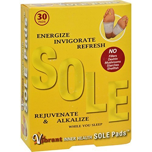 TRR Enterprises - Inner Health Sole Pads - 30 Patch(es) ( Multi-Pack) by Trr®