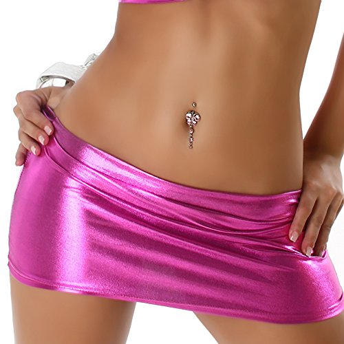Jela london rock metal (goGo brillant taille 34/36/38) rose bonbon