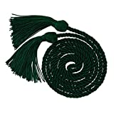 "GraduationMall Graduation Honor Cord 68"" Forest Green"