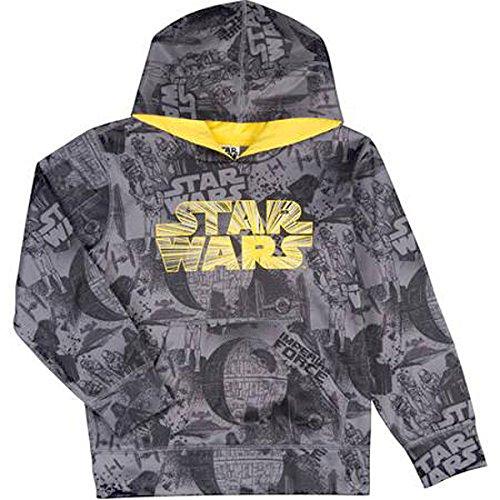 UPC 888823632598, Star Wars Imperial Force Big Boys Poly Fleece Hoodie (M (8))