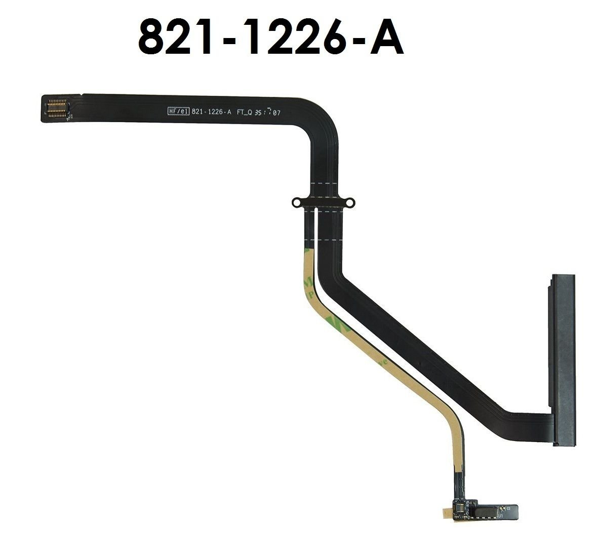 Whizzotech HDD Hard Drive Flex Cable 821-1226-A for MacBook Pro A1278 13'' Unibody 2011 922-9771 W2131