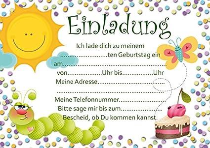 Eric Carle Die kleine Raupe Nimmersatt Party Pappteller Kindergeburtstag
