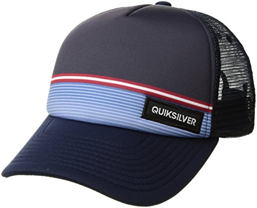 Quiksilver Boys' Big Stripe Stare Youth HAT, 410 Navy Blazer/Blue, 1SZ from Quiksilver