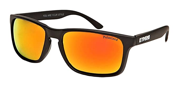 KYPERS Coconut, Gafas de Sol Unisex, Matte Black-Red Mirror, 57: Amazon.es: Ropa y accesorios