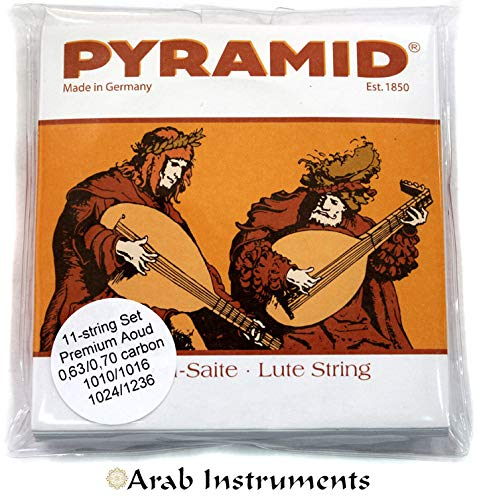 Pyramid Oud Premium Set - 11 strings (Made in Germany)