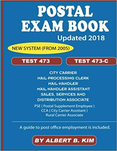 Postal Exam Book for Test 473 and 473-C: Albert B  Kim