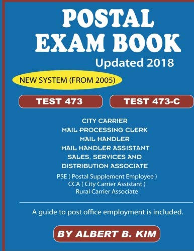 Pdf Test Preparation Postal Exam Book for Test 473 and 473-C