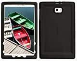 Bobj Rugged Case for Samsung Galaxy Tab A 10.1, SM-T580, SM-T585, (Does not fit S-Pen Models) - BobjGear Custom Fit - Patented Venting - Sound Amplification - BobjBounces Kid Friendly (Bold Black)