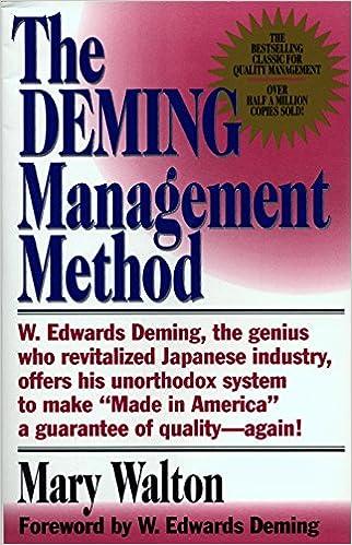 The Deming Management Method