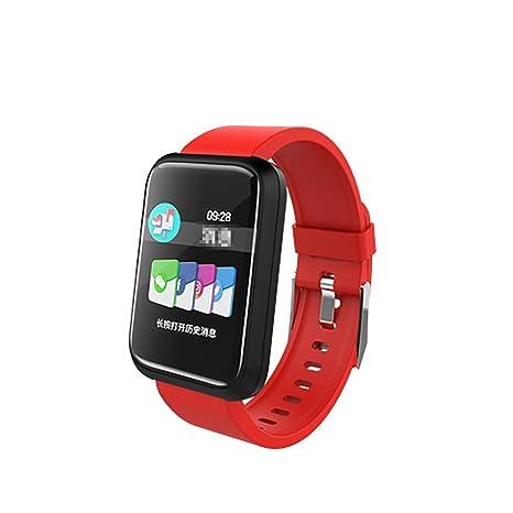 XiXia Health & Fitness Smartwatch, Reloj de Seguimiento de ...