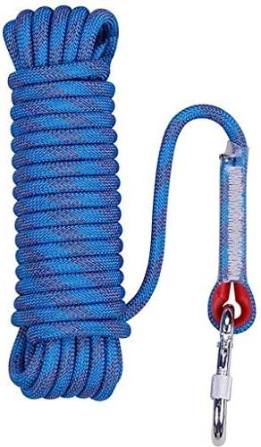 屋外ロッククライミングロープ、アウトドアハイキングアクセサリー高強度コード安全ロープ静的ロッククライミングロープ、ファイアエスケープ安全救助ロープ
