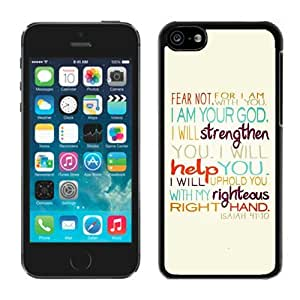 Protective Case Bible Verse Iphone 5c Case Balck Cover
