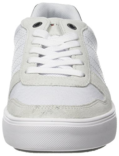 Mix White Basses Sneakers Homme Hilfiger 100 Tommy Material Lightweight Blanc Sneaker tOwTAq