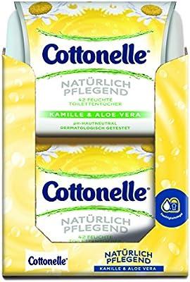Papel Higiénico Cottonelle húmedo Naturalmente Nutrir Box: Amazon ...
