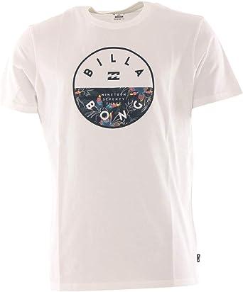 BILLABONG BRO Rotor Tee SS - Camiseta (talla S), color blanco: Amazon.es: Ropa y accesorios