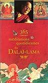 365 Méditations quotidiennes du Dalaï-Lama par Dalaï-Lama