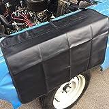 EIGIIS Automotive Car Fender Cover Professional Magnetic Cars Repair Protection Mat Pad for Repair Vehicles Work (Black)