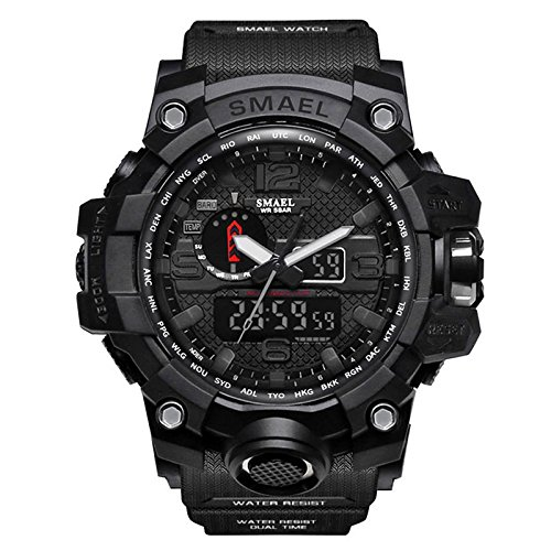 Yiding Mens Sports Digital Watch Multifunctional Watch Christmas Gift by YiDing (Image #4)