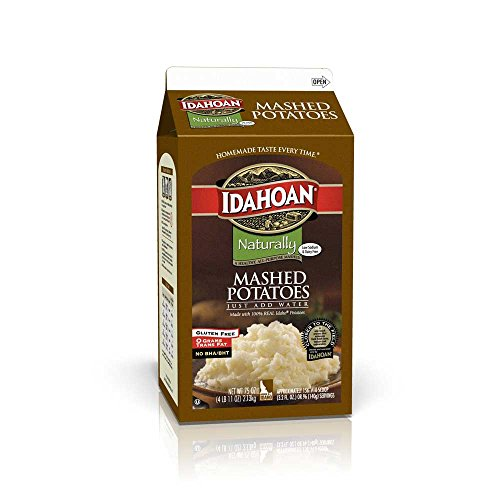 Idahoan Naturally Signature Mashed Potatoes, 4.68 Pound -- 6 per case. by Idahoan