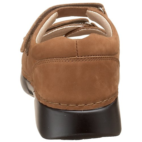Nubuck Walker Pedic Chocolate Propet W0089 Women's Sandal taqYRwY