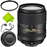 Nikon AF-S DX NIKKOR 18-300mm f/3.5-6.3G ED VR Lens Base Bundle