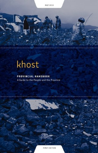 Khost Provincial Handbook: A Guide to the People and the Province pdf