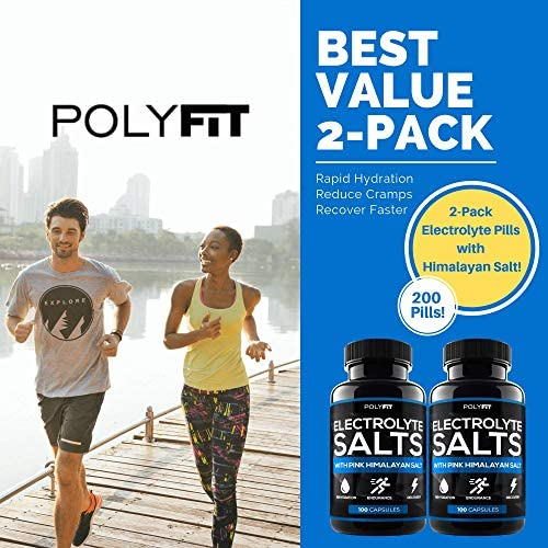 2 Pack 200 Salt Pills Salt Tablets Electrolyte