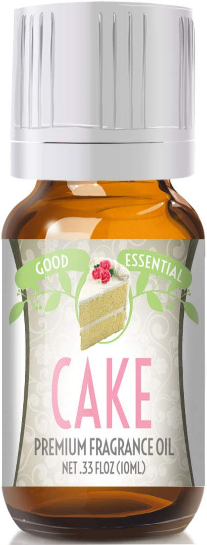 Cake Scented Oil by Good Essential (Premium Grade Fragrance Oil) - Perfect for Aromatherapy, Soaps, Candles, Slime, Lotions, and More!