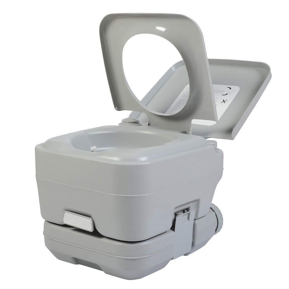 JXHD Auto Portable Mobile WC-10L Flush Design Außen Hause Kinder Ältere Schwangere Frauen Toilettenstuhl