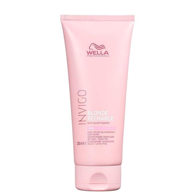 Wella Invigo Cool Blond Hair Conditioner - 200 ml  Amazon.co.uk  Beauty dd83b579a45