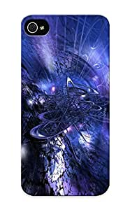 New Fashion Premium Tpu Case Cover For Iphone 5/5s - Abstract Fractal Case For New Year's Day's Gift