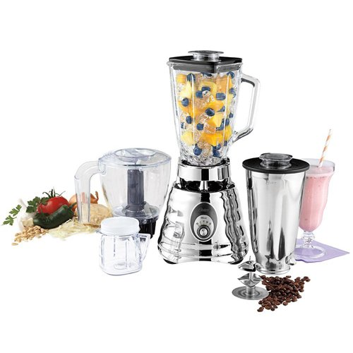 Oster Manual Blender - Oster Heritage Blend Kitchen Center Blender: Processor,Retro-Style Shakes,Chops