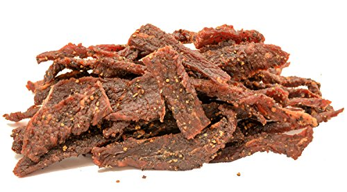 People's Choice Beef Jerky - Tasting Kitchen - Cowboy Peppered - Gourmet Handmade Craft Meat Snack - 1 Pound - Bag 1 Jerky Lb