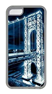 iPhone 5C Case,Light Bridge TPU Custom iPhone 5C Case Cover Transparent