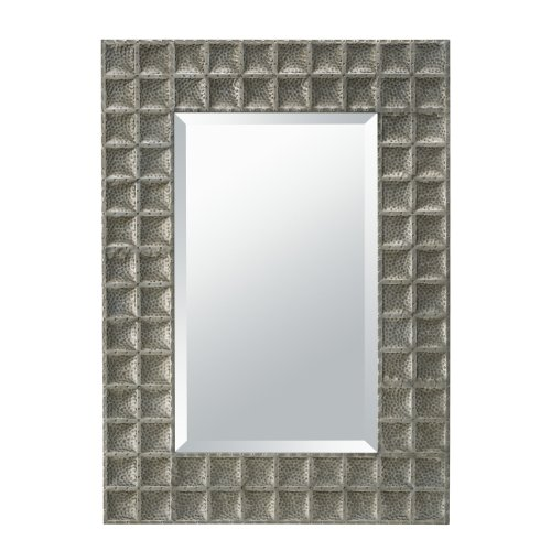 Kichler Lighting 78223AP Missoula Collection Beveled Mirror, Antique Pewter (Lighting Transitional Torchiere)