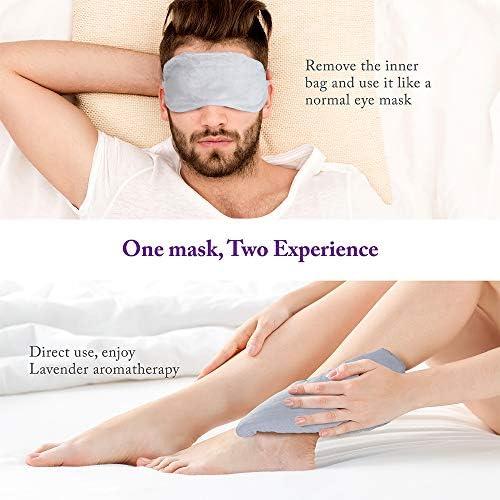 Amazon.com: Unimi - Almohada de lavanda para los ojos ...