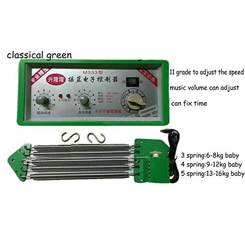 Baby Cradle Electric Driver, cradle swing machine, Cradle Controller (green)