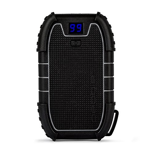 Veho Pebble Endurance Portable Power Bank | Torch | Smartphone and Tablet Charger | 15,000mAh | Rugged | USB-C | LED Digital Display | Battery Pack (VPP-008-E)