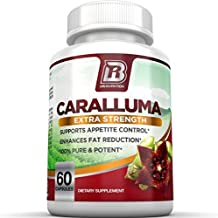 BRI Nutrition Caralluma Fimbriata - Natural Appetite Suppressant & Weight Loss Diet Pills - 1000mg, 30-Day, 60 Count Vegetarian Capsules