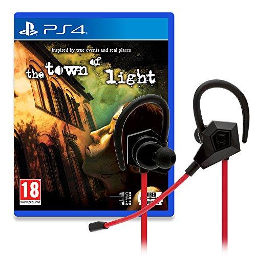 Venom in-Ear Stereo Esports Gaming Headset Limited Edition Town of Light Game Bundle (PS4)