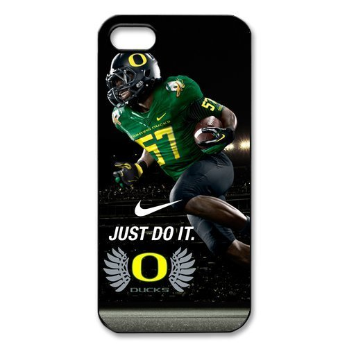 Famous UO NCAA Oregon Ducks IPhone 5 5S Cover Case Nike Just Do It Snap On
