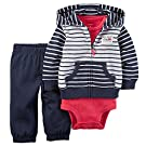 Carter's Baby Boys' 3 Piece Cardigan Set Big Surf 9M