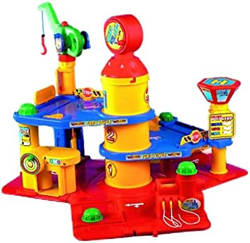Wader 51000 Park Tower, 4 Ebenen, 2 Autos: : Spielzeug